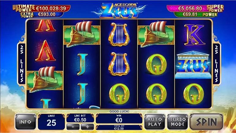 Age of the Gods de Playtech débute chez bet365 Casino Avec un Cadeau de $375,000