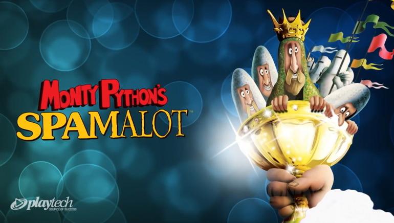 Le jackpot de Spamalot des Monty Python grimpe à 2,5 millions de dollars sur Europa Casino