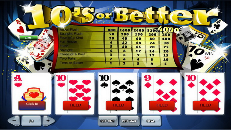 Yahoo mobile video poker