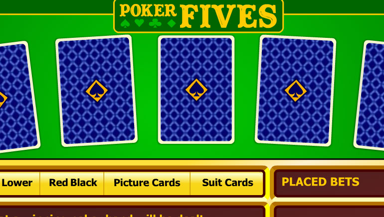 Poker Fives